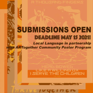 Submission request for a poster contact in collaboration with Local Language