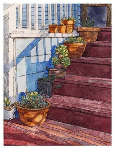 """Somaieh Amini • """"My Neighborhood, Stairs"""""""