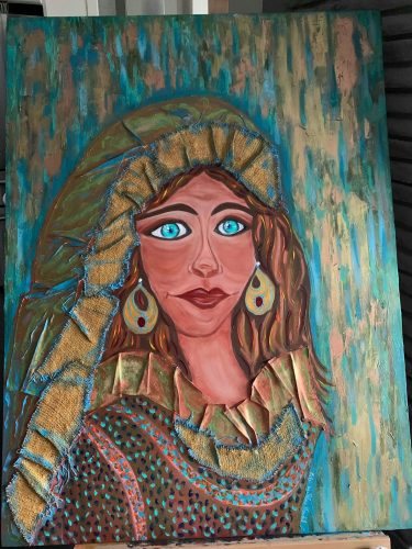 "Salma Kandil • ""Sharbat, an Afghani Girl"""