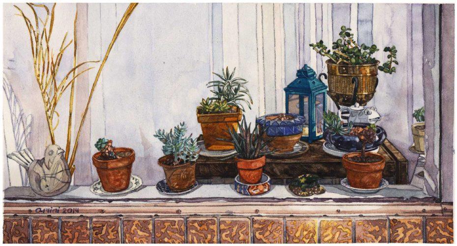 "Somaieh Amini • ""My Neighborhood, Plants"""