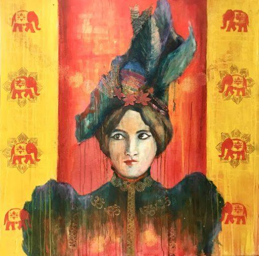 """Nimisha Doongarwal • """"Lady With an Elephant"""""""